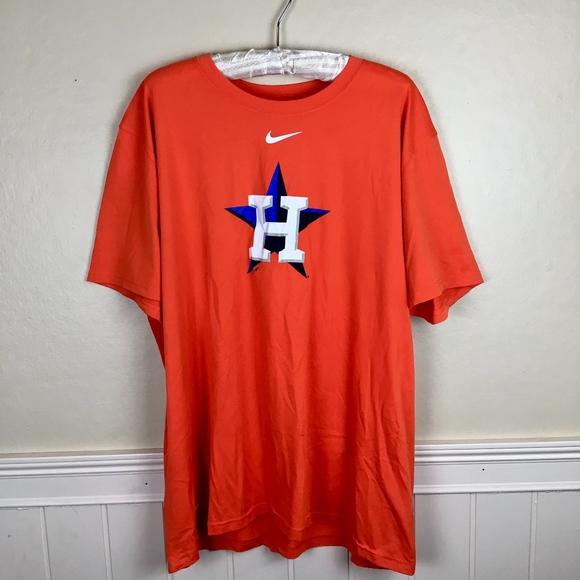 e0257388 Nike Shirts | Mens Houston Astros Baseball Graphic Tee Xxl | Poshmark